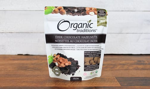 Organic Organic Dark Chocolate Covered Hazelnuts- Code#: PC410885