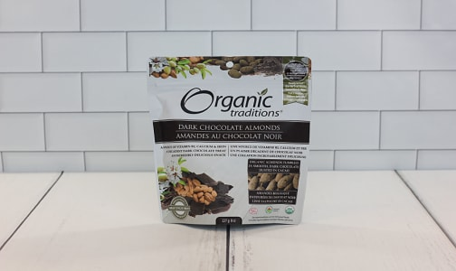 Organic Organic Dark Chocolate Covered Almonds- Code#: PC410887