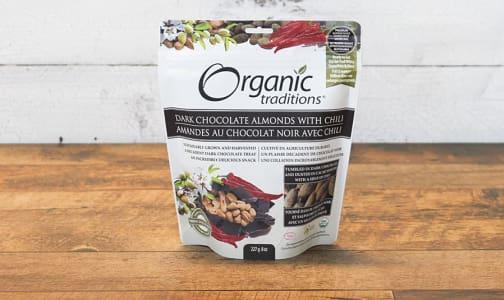 Organic Dark Chocolate Covered Almonds with Chili- Code#: PC410888