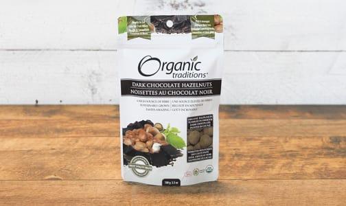 Organic Dark Chocolate Covered Hazelnuts- Code#: PC410902