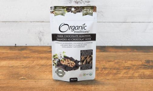 Organic Dark Chocolate Covered Almonds- Code#: PC410903