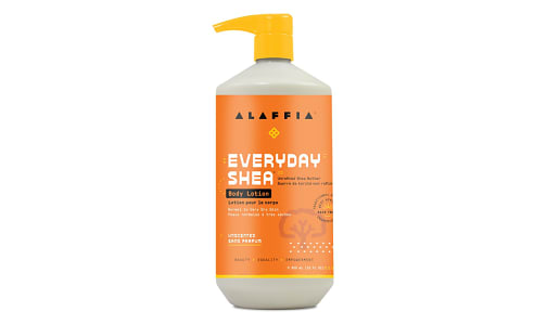 Everyday Shea Body Lotion - Unscented- Code#: PC410906
