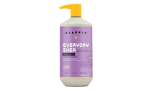 Everyday Shea Body Lotion - Lavender- Code#: PC410907