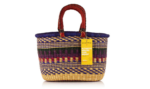 African Basket, Oval- Code#: PC410911