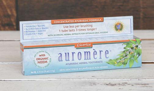 Organic Licorice Toothpaste- Code#: PC410913