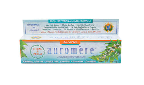 Organic Licorice Toothpaste- Code#: PC410913