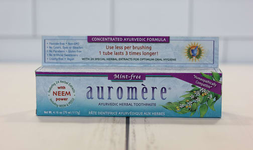 Mint Free Toothpaste- Code#: PC410914