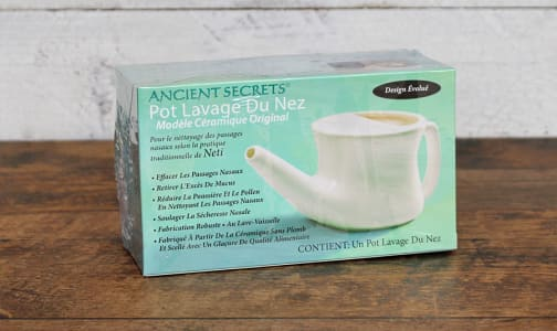 Ceramic Neti Pot- Code#: PC410916