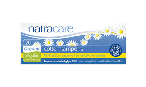 Organic Tampons Without Applicator -  Regular- Code#: PC415
