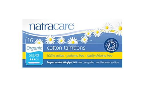 Organic Tampons with Applicator - Super- Code#: PC417