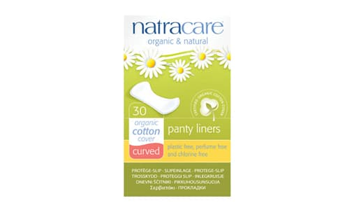 Organic Curved Panty Liners- Code#: PC419