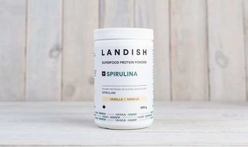 Functional Protein Powder +Spirulina | Vanilla- Code#: PC4211