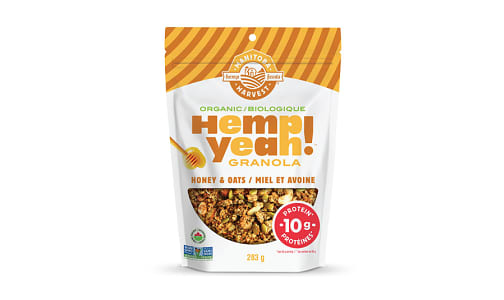 Organic Hemp Yeah! Granola - Honey & Oats- Code#: PC4224