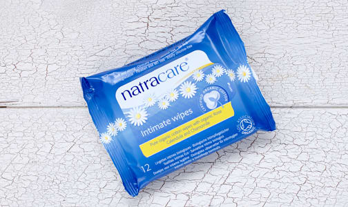 Organic Cotton Intimate Wipes- Code#: PC422