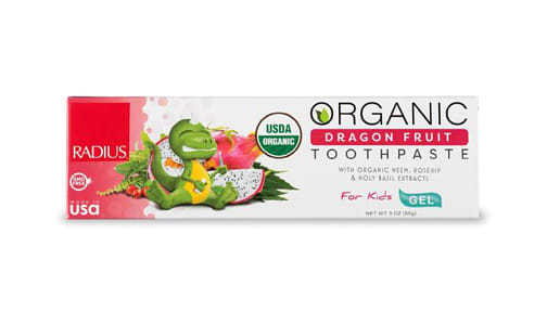 Organic Toothpaste - Dragon Fruit- Code#: PC4332