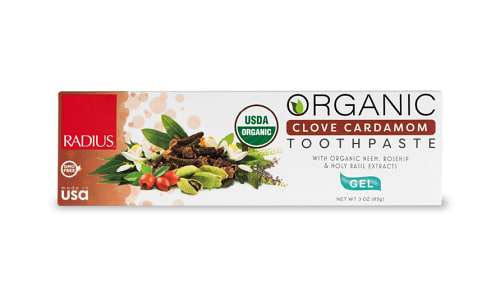 Organic Toothpaste - Clove Cardamom- Code#: PC4333