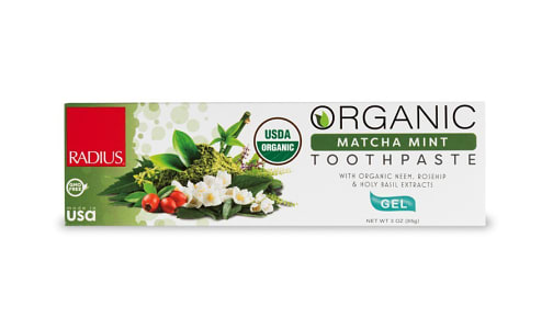 Toothpaste - Matcha Mint- Code#: PC4334