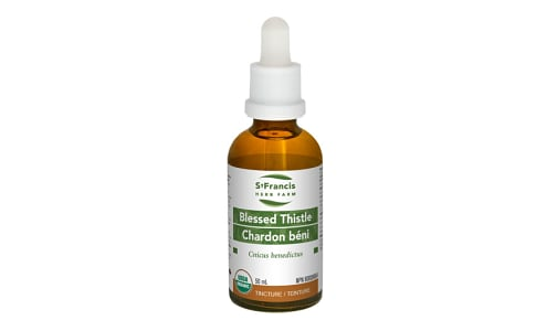 Organic Blessed Thistle Tincture- Code#: PC4553