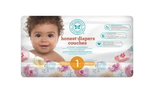 Diapers; Size 1; Rose Blossom- Code#: PC4579
