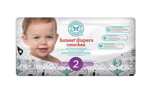 Diapers Size 2; Space Travel- Code#: PC4582