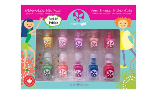 10 Mini Nail Kit, Party Palette- Code#: PC4697