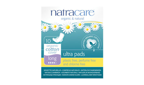 Organic Ultra Pads With Wings - Long- Code#: PC4712