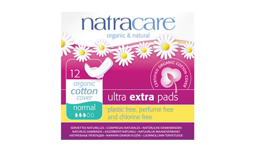 Organic Ultra Extra Pads - Normal- Code#: PC4713