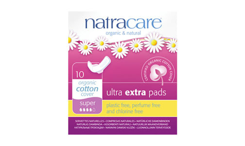 Organic Ultra Extra Pads - Super- Code#: PC4714