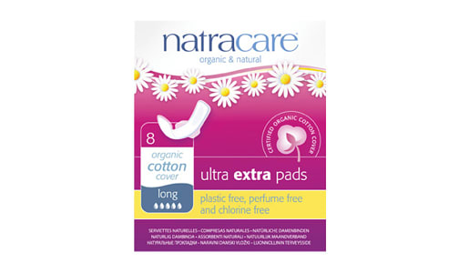 Organic Ultra Extra Pads - Long- Code#: PC4715