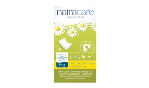 Organic Long Panty Liners- Code#: PC4720