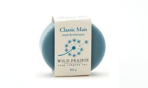 Classic Man Natural Bar Soap- Code#: PC4753