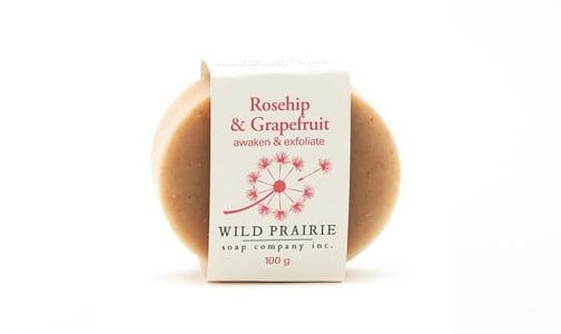 Rosehip & Grapefruit Natural Bar Soap- Code#: PC4760