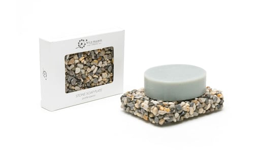 Stone Soap Plate - Beach- Code#: PC4776
