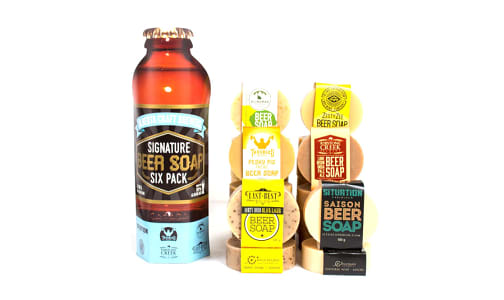 Signature Beer Soap Six Pack- Code#: PC4787