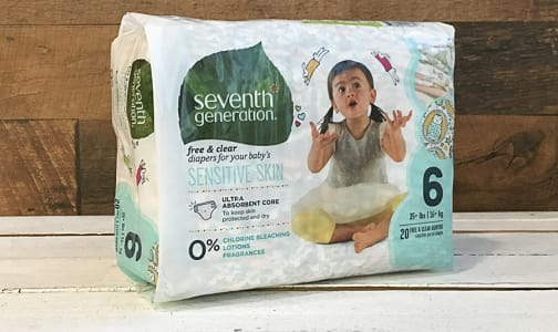 Disposable Diapers (Stage 6) 16 + kg, 35 lbs- Code#: PC479