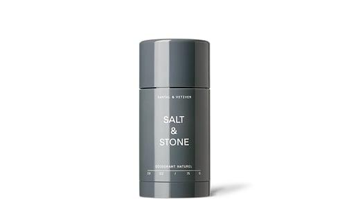 Organic Deodorant Formula No2 -  Vetiver + Sandalwood- Code#: PC4809