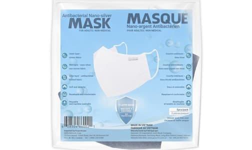 Antibacterial Adult Mask - Blue- Code#: PC4823