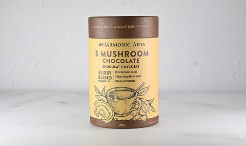 Organic 5 Mushroom Hot Chocolate Elixir Blend- Code#: PC4830