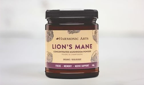 Organic Lions Mane Concentrated Mushroom Powder- Code#: PC4838