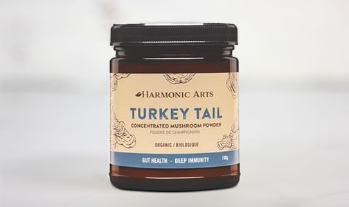 Organic Turkey Tail Concentrated Mushroom Powder- Code#: PC4842