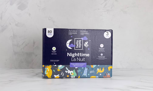 Overnight Diaper - Sleepy Campers & Snoozy Sloths - Size 3- Code#: PC4866