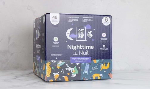 Overnight Diaper - Sleepy Campers & Snoozy Sloths - Size 6- Code#: PC4869