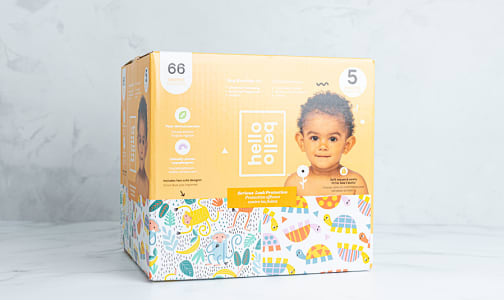 Diapers - Monkeys and Turtles - Size 5- Code#: PC4875