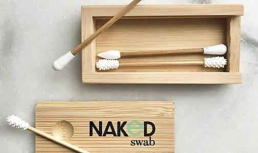 Organic Reusable Swabs - Bamboo- Code#: PC4930