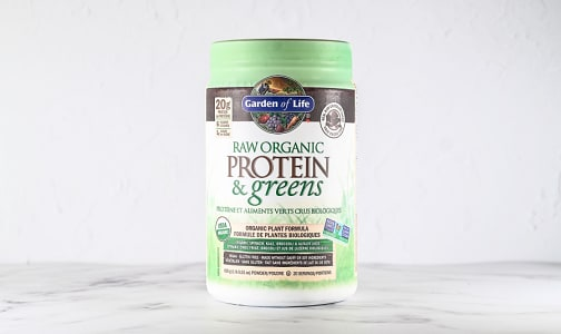 Organic RAW Protein & Greens - Chocolate- Code#: PC4937