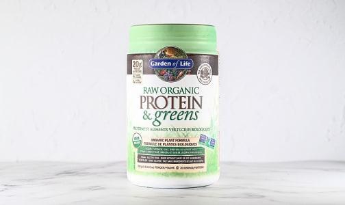 Organic RAW Protein & Greens - Chocolate- Code#: PC4937
