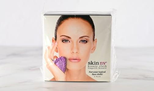 Facial Beauty Cloth - Purple- Code#: PC4956