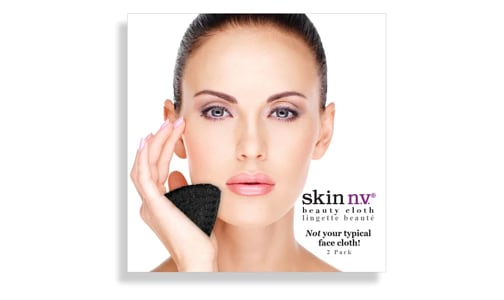 Facial Beauty Cloth - Black- Code#: PC4957