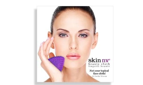 Facial Beauty Cloth - Purple- Code#: PC4958