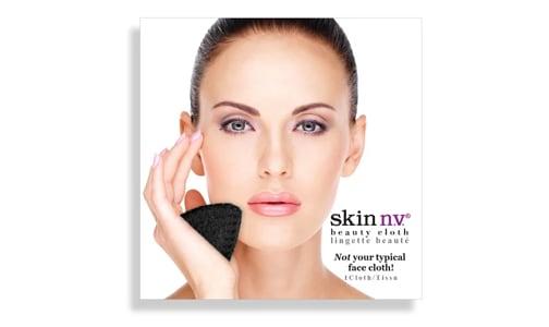 Facial Beauty Cloth - Black- Code#: PC4959
